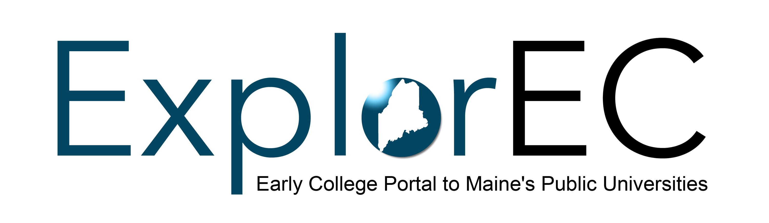 Logo for ExplorEC Early College Portal to Maine's Public Universities